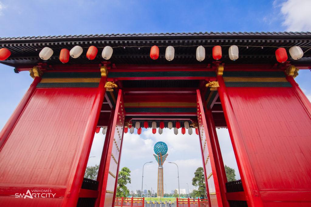 Cổng chào đậm chất văn hóa Nhật Bản