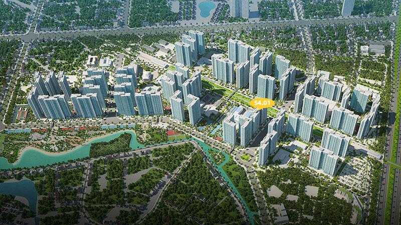 Tổng quan tòa S4.01 Vinhomes Smart City