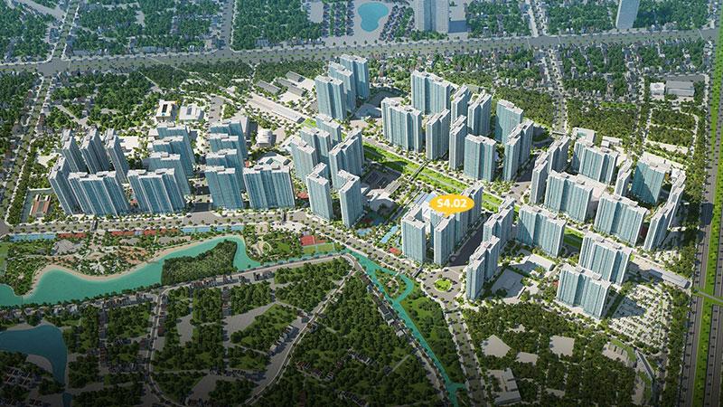 Tổng quan tòa S4.02 Vinhomes Smart City