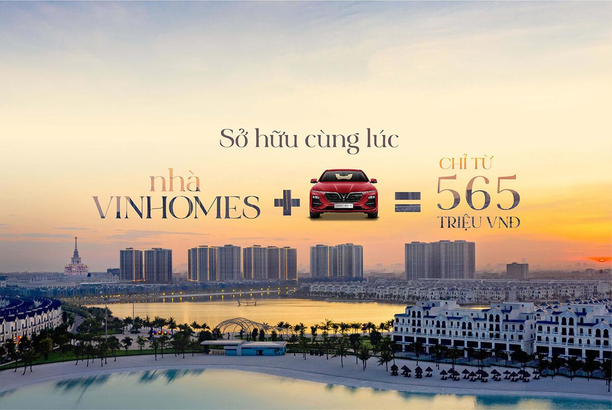 Mùa nhà và xe Vinhomes Smart City