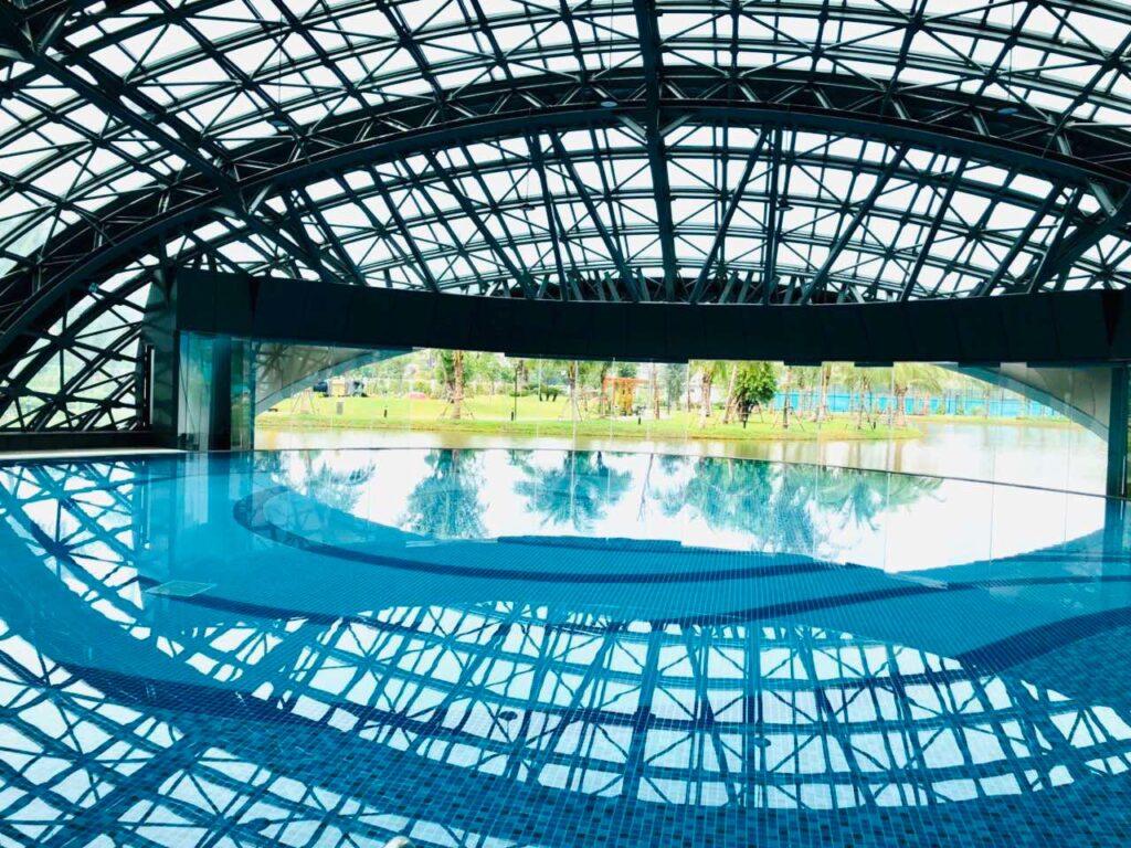 Bể bơi tại Biệt thự Vinhomes Smart City