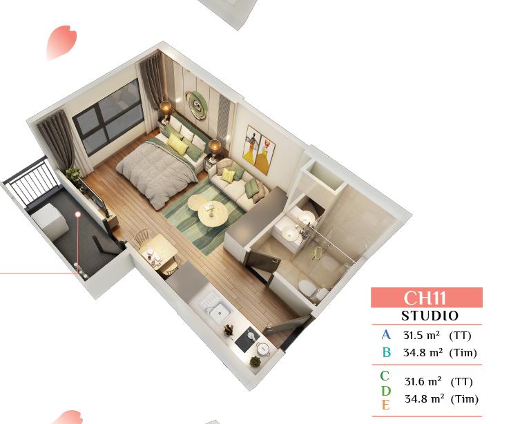 Thiết kế Studio Sakura Smart City